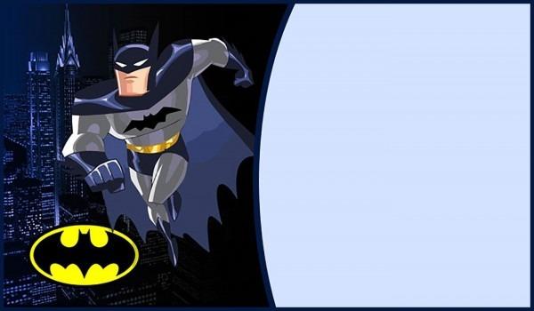 Printable Batman Party Invitation
