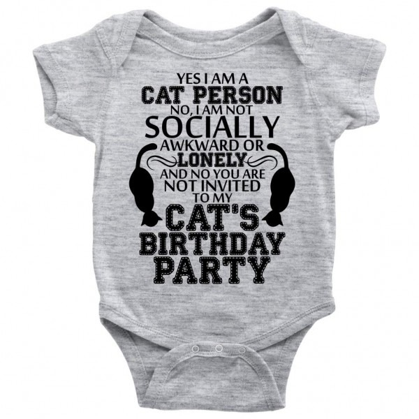 Amazon Com  Cat's Birthday Party T Shirt, You Are Not Invited Baby