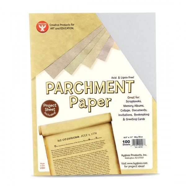 Amazon Com  Hygloss Products Craft Parchment Paper Sheets