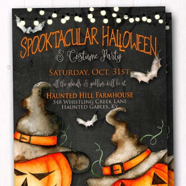 Amazon Com  Halloween Party Invitations