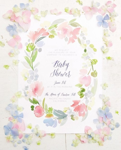 A Floral Inspired Baby Bloom Theme Baby Shower  Snap Via Lauren