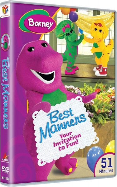 Amazon Com  Barney  Best Manners  Movies & Tv