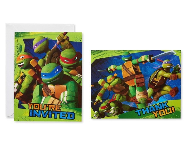 Amazon Com  American Greetings Teenage Mutant Ninja Turtles Party