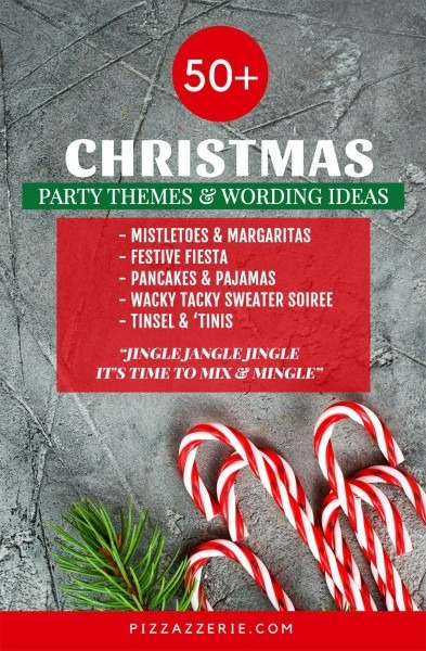 50+ Christmas Party Themes & Clever Invitation Wording