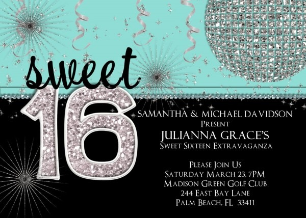Sweet 16 Tiffany Parties