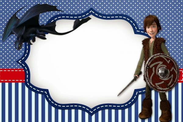 How To Train Your Dragon Free Printable Invitations