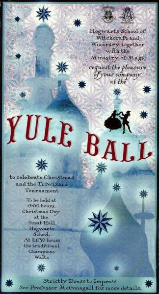 Yule Ball Invitation