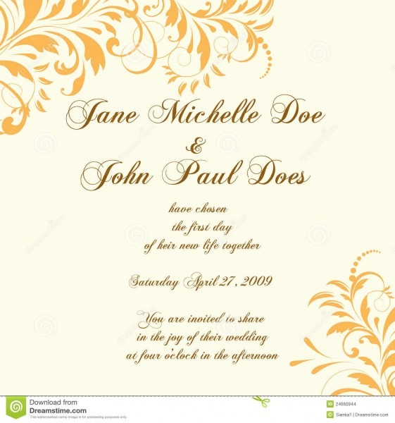 Beautiful Invitation Card For Wedding Wedding Card Invitation