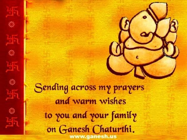 Great Ganesh Puja Invitation Card Free Chaturthi Online