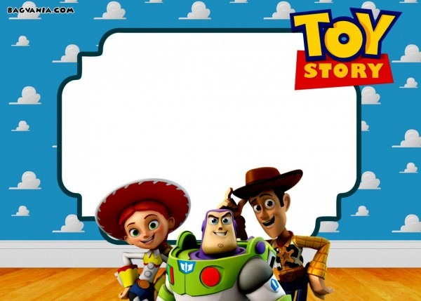 Awesome Toy Story Birthday Invitations Template Free Free