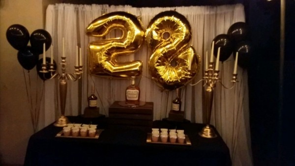 Hennessy Cake Table Hennessy Theme Party Cake Hennessy Dessert