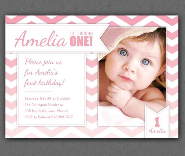 Baby Boy First Birthday Invitations — Birthday Invitation Examples