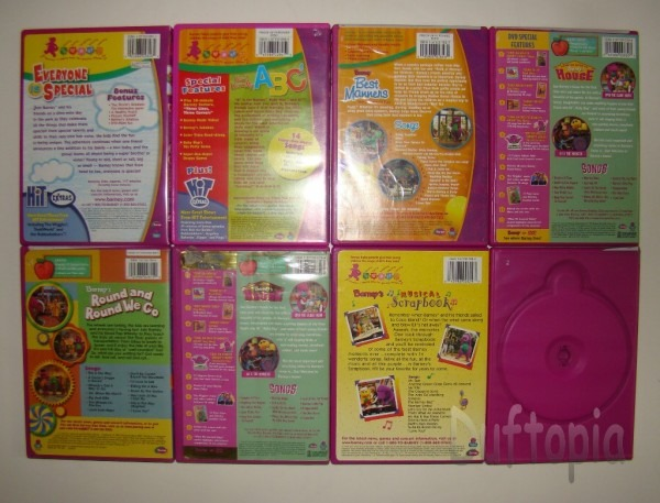 Barney The Bear Dvd's