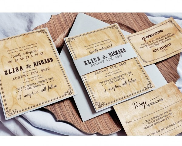 Invitation Cards ~ By Color ~ Neutrals