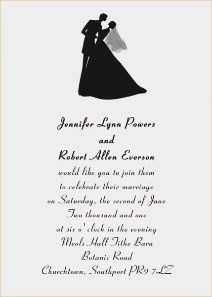 27+ Amazing Image Of Wedding Invitation Wording Ideas