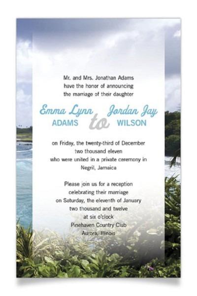 Pre Wedding Party Invitation Private