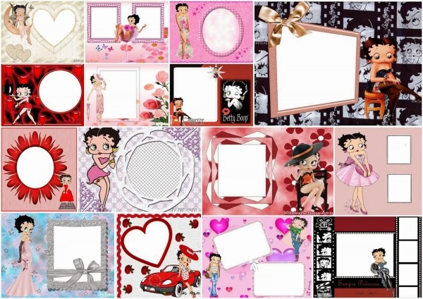 Betty Boop Photo Frames