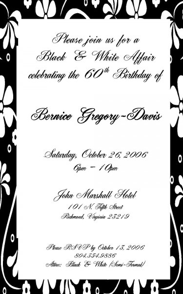 invitation letter for dinner party