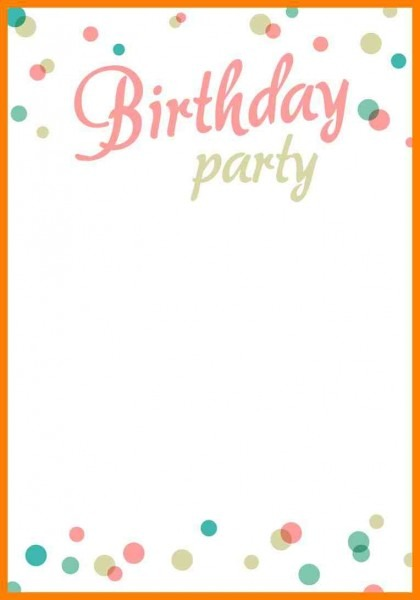 Birthday Invitation Templets 21st Invitations Boy Templates 40th
