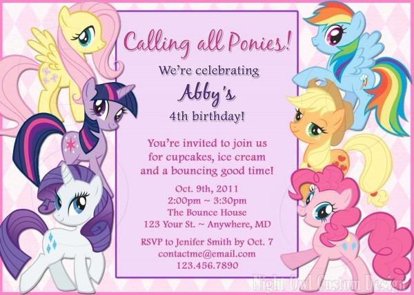 Birthday Invitation Wording For Kids — Birthday Invitation Examples