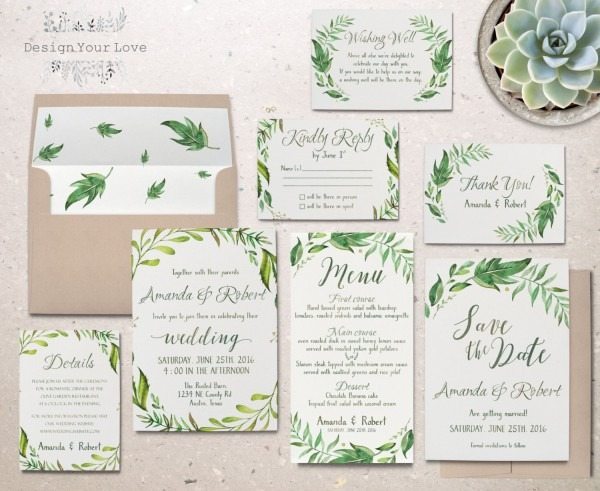 Brilliant Wedding Invitation Sets Wedding Invite Etsy