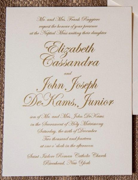 27+ Marvelous Photo Of Catholic Wedding Invitation Wording
