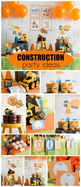 Construction   Birthday  Construction Party
