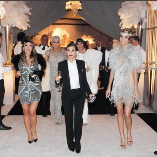 Every Gatsby Look From Kris Jenner's 1920's Themed Birthday Party