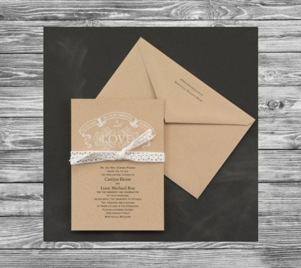 Carlson Craft Pocket Wedding Invitations: Carlson Craft Invitation Wording