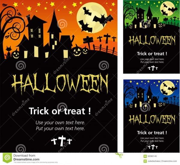 Carte D'invitation Halloween En Anglais – Fun For Christmas