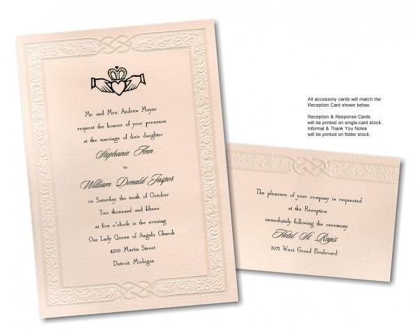 Celtic Wedding Invitations Celtic Wedding Invitations For Creating