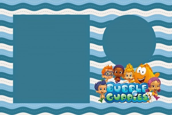 Bubble Guppies  Free Party Printables  Right Click And Save As