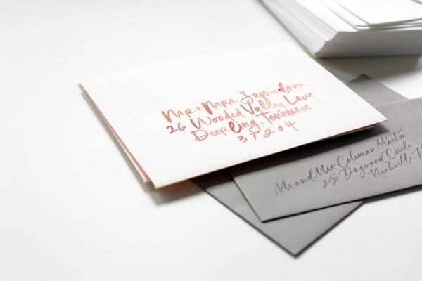 Intro To Wedding Invitation Calligraphy