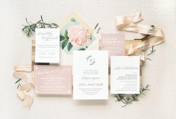 Letterpress Wedding Invitations & Stationery