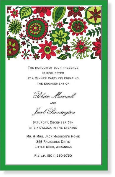 Christmas Party Invitation Wording Ideas And Sample Program