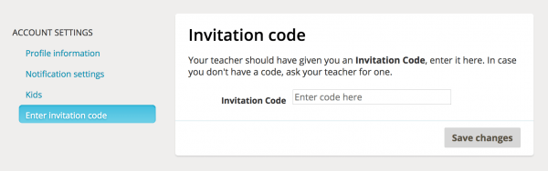 How Do Students Enter Additional Teacher Invitation Codes  – Tinkercad