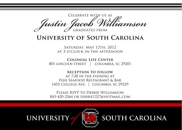 College Graduation Invitation Wording College Graduation