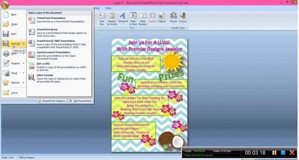 Creating Invitations In Microsoft Word Filename