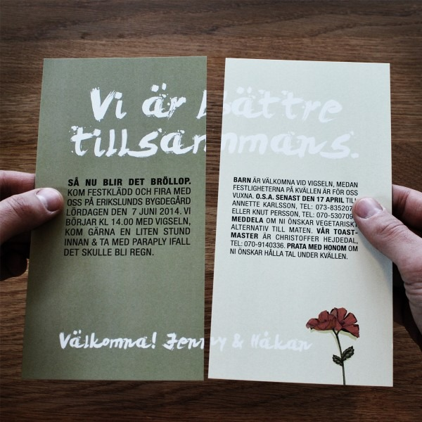 Creative Wedding Invitation From Festdude And Get Inspired To Make