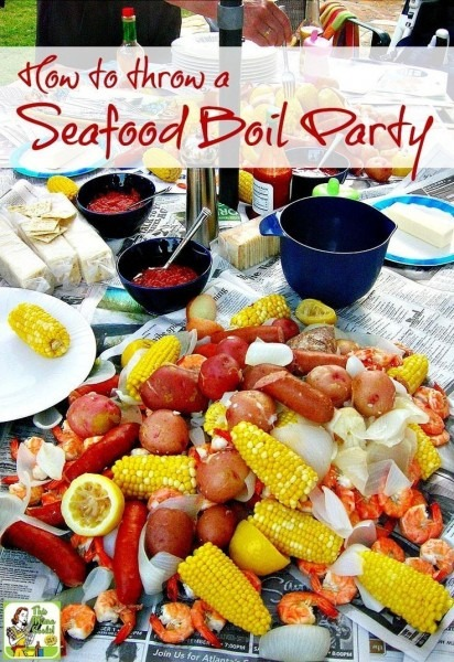Tips On How To Throw A Seafood Boil Party, Whether You Love