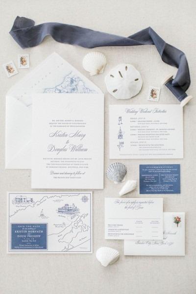 New York Wedding Invitations, New York Wedding Invites, New York