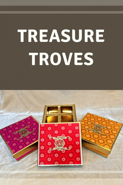 Charming Little Treasure Chests From Shri Dzine, In A Wide Array