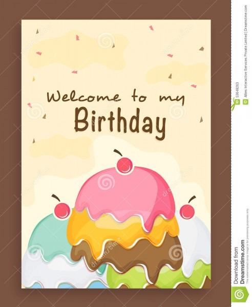 Design A Birthday Invitation — Birthday Invitation Examples
