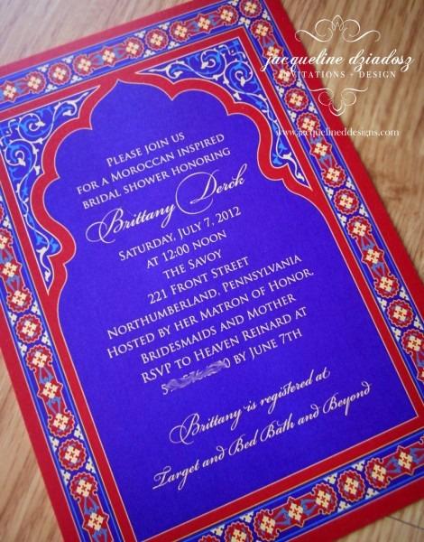 Jacqueline Dziadosz, Invitations & Design  Bridal Shower