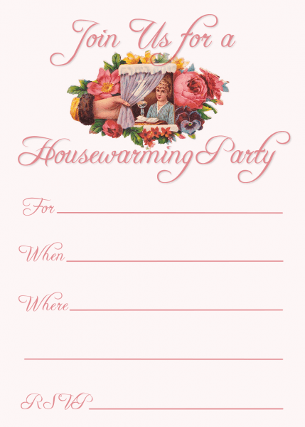 Eaebaafcd Printable Templates Housewarming Party Invitations
