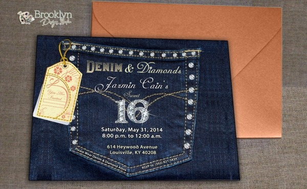 Image Result For Diamonds And Denim Party Theme …