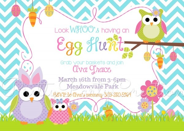 Easter Party Invitation Templates Free – Hd Easter Images