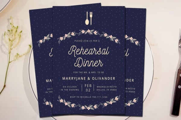 Invitations For Rehearsal Dinners