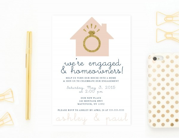 Engagement Party Invitation Housewa Popular Engagement And