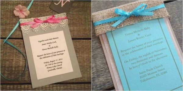 This Is How Fall Wedding Invitations